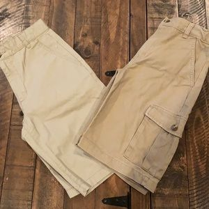 Khaki Shorts (Bundle x2)